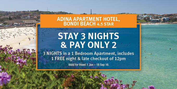 Adina Apartment Hotel Bondai Beach